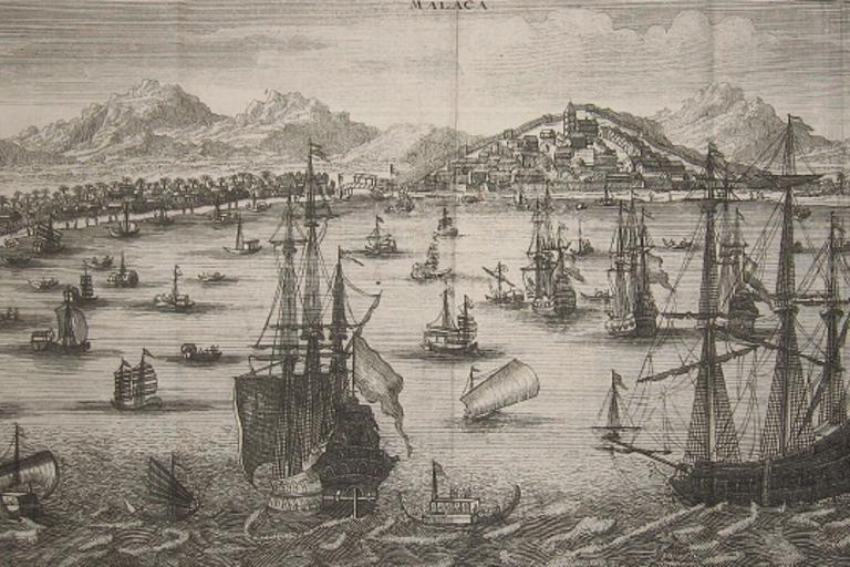 Dutch Ships in Malacca
