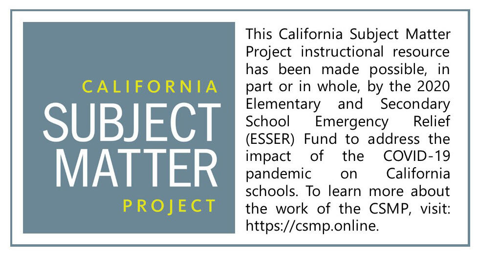 CSMP ESSER funded