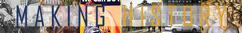 making history banner