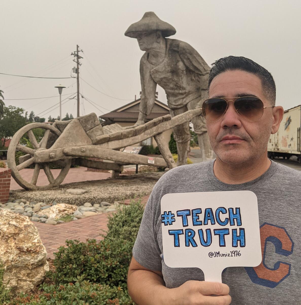#teachtruth - railroad worker