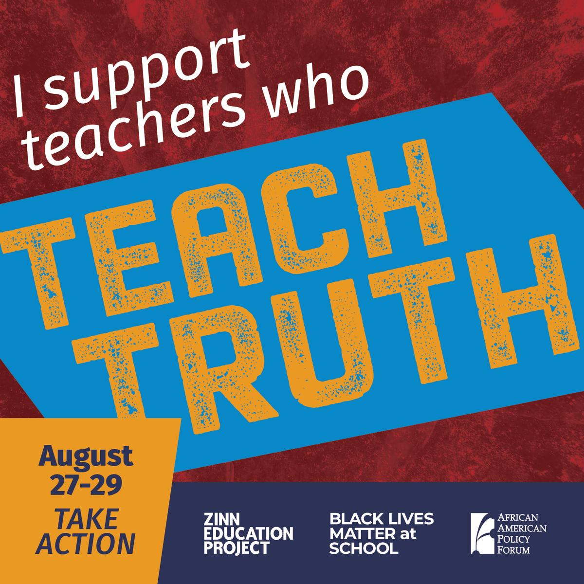 #teachtruth